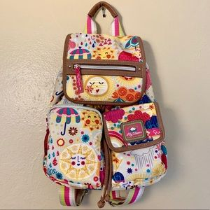 Hello Sunshine Lily Bloom Backpack